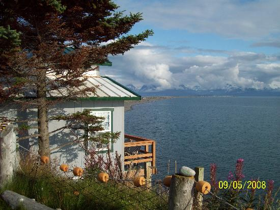 The Alaska Beach House: View from yard