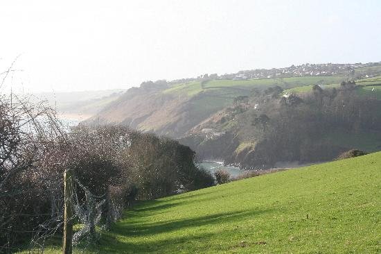 Higher Bowden Holiday Cottages: Stunning local view