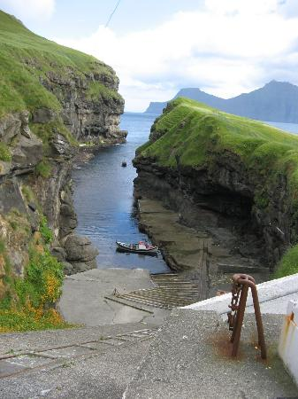 Eysturoy, Faroe Islands: The gjogv at Gjogv