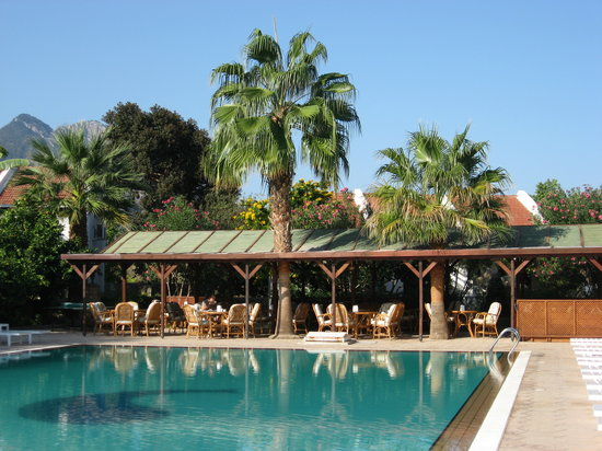 Almond Holiday Village: Pool and Dining area