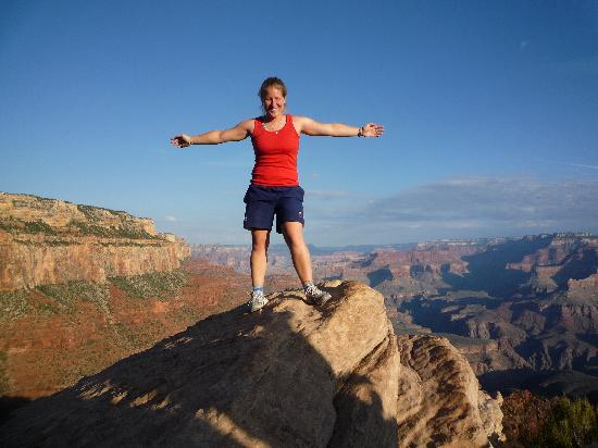 new style 72d01 da4fb Grand Canyon National Park, AZ  On top of the world at the Grand Canyon