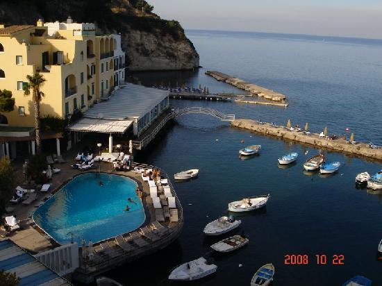 L'Albergo della Regina Isabella: view from my balcony