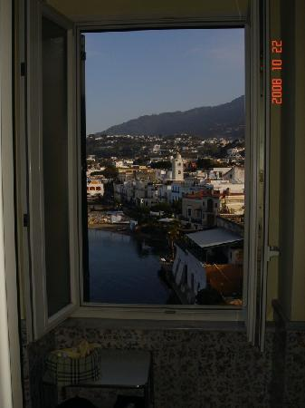 L'Albergo della Regina Isabella: view from my bathroom window :)