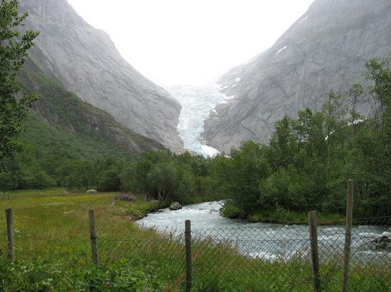 Norge: Briksdalsbreen - Norway
