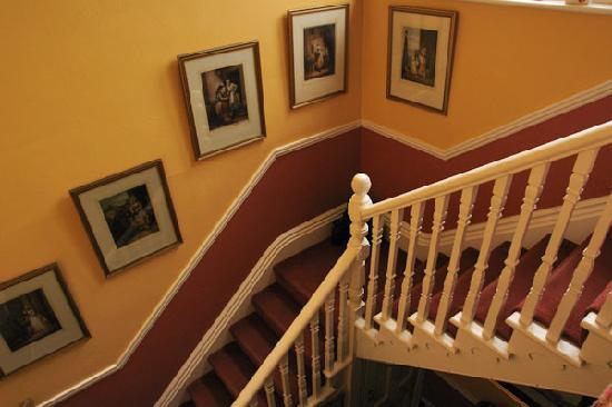 Portman Lodge : Stairway