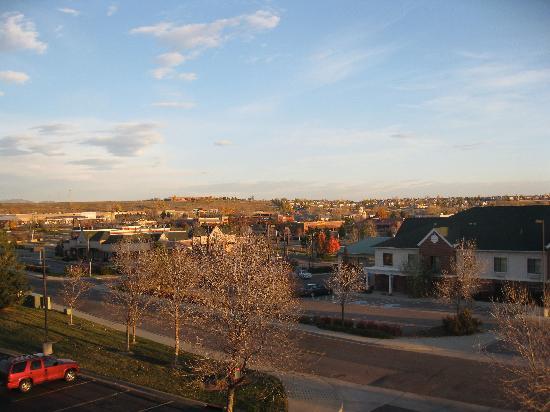Courtyard Boulder Louisville : View from window