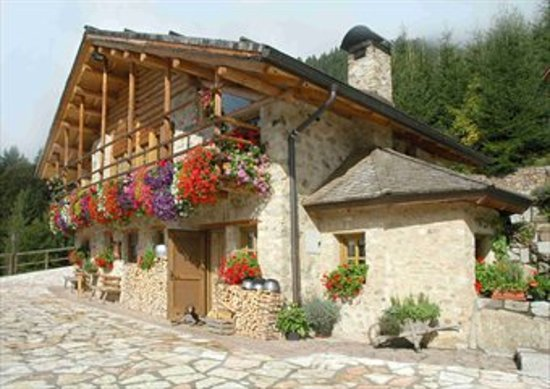 Agritur Maso Santa Romina: A very small and cute cottage above berries fields