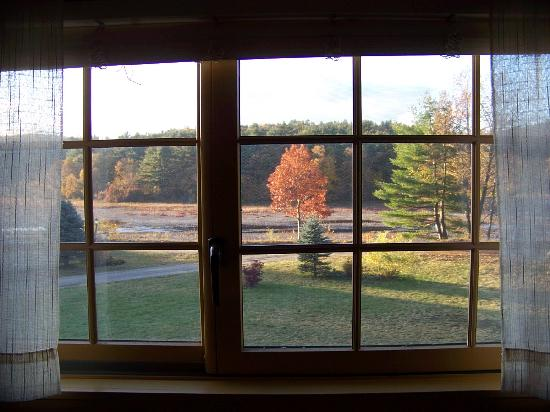Country Road Lodge Bed and Breakfast: Lookin out our bedroom window