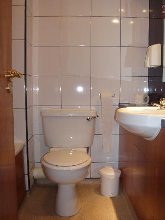 Premier Inn Leicester North West Hotel: baño
