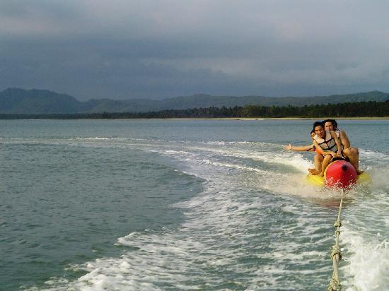 Pulau Umang Resort & Spa: Banana Boating in Pulau Umang Area