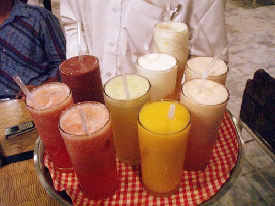 ALBASHA Lebanese Restaurant : the fresh juices!