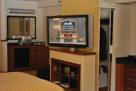 Hyatt Place Indianapolis Airport: Haytt Place Flat Screen
