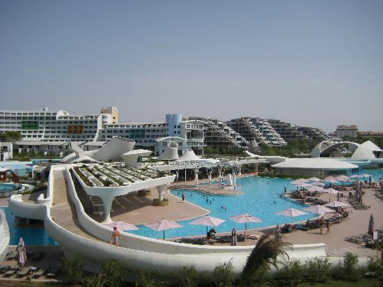 Cornelia Diamond Golf Resort & Spa: view from water slide