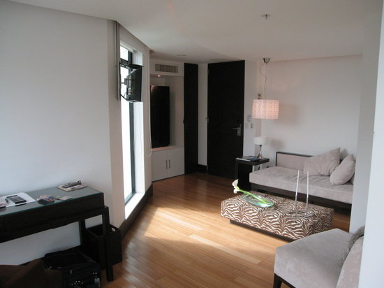 Le Parc Hotel: Siting area