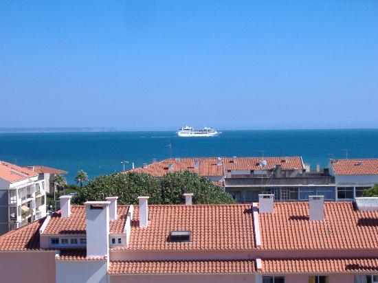 Carcavelos, Portugal: Vista desde habitación