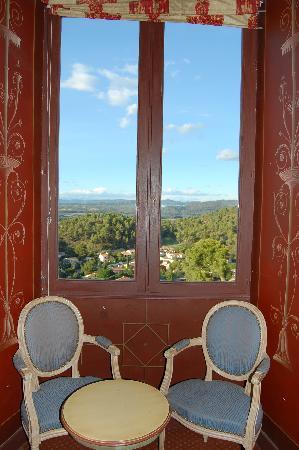 Chateau de Meyrargues: Belle vue.