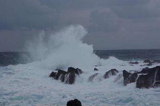 Hotel Terra do Mar: vagues à Biscoitos