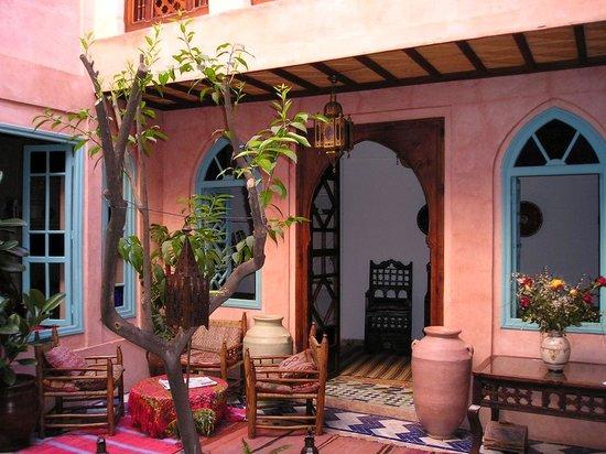 Riad Souika: the courtyard