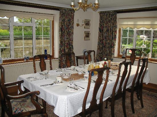 Blockley, UK: dining room