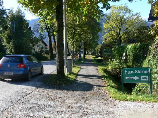 Haus Steiner: Look for the sign on Moosstrasse