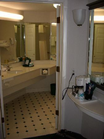 La Quinta Inn & Suites USF (Near Busch Gardens): Bathroom