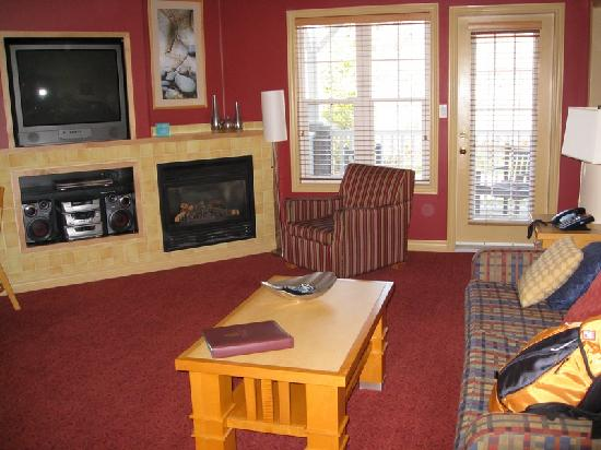 Carriage Hills Resort: living room of the suite