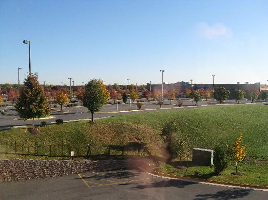 Holiday Inn Chantilly-Dulles Expo (Arpt): View from my room