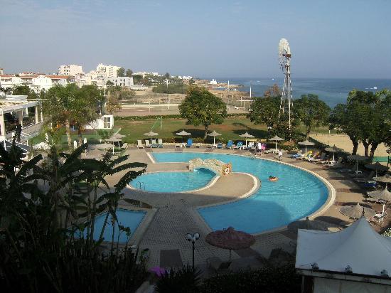 Pernera Beach Hotel: View from Hotel Balcony