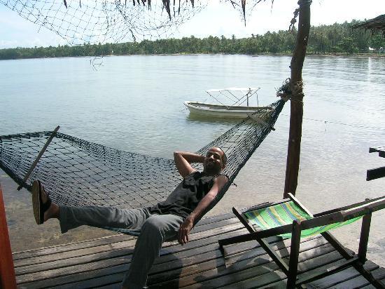 Koh Mak Cococape Resort: Private sit-out over the sea