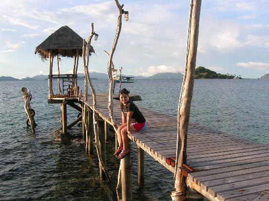 Koh Mak Cococape Resort: Cool pier