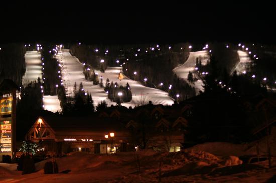 Saint Sauveur des Monts, Canada : piste de ski mars 2006