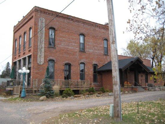 Hayward, WI: Angry Minnow exterior