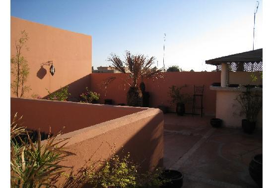 Riad Calista : charme de la terrasse