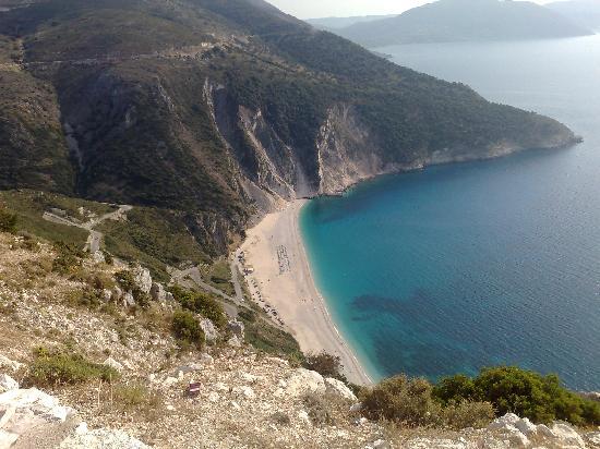 Cephalonia, Greece: Myrtos Beach in June, 2008. Unforgettable!