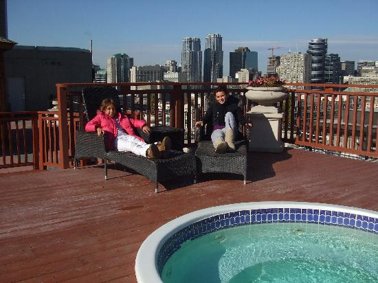 Rooftop Picture Of Grand Hotel Suites Toronto Tripadvisor