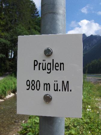 Canton of Glarus, Suiza: Prüglen - nicht Prügeln am Obersee