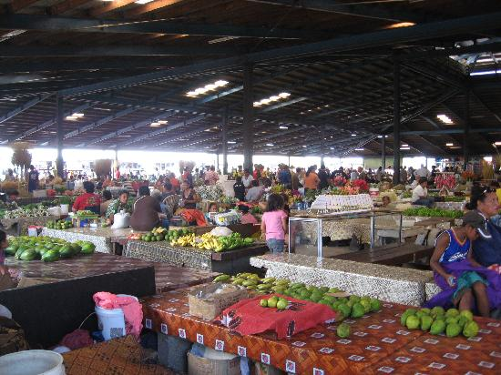 Apia, Samoa: Scenes from inside the markets