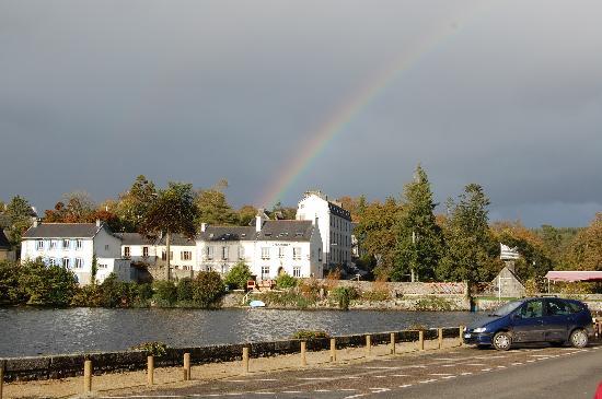 Huelgoat, France : O'Briens under the rainbow