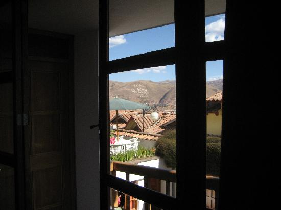 B&B-Hotel Pension Alemana: view from our room & balcony!