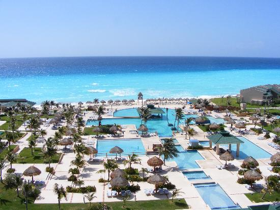 Iberostar Golf Club Cancun: the view from the room