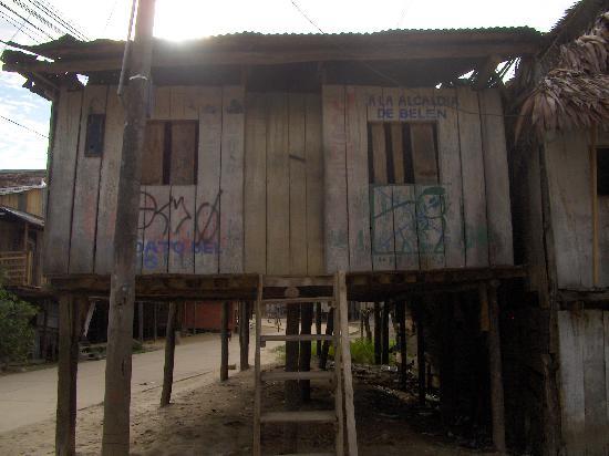 Hostal El Colibri: Il quartiere di Belen
