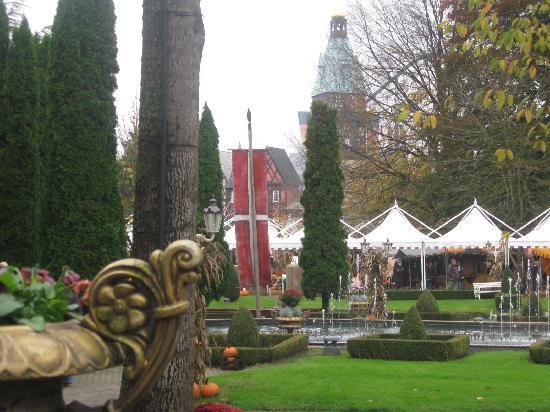 Europa-Park: German village