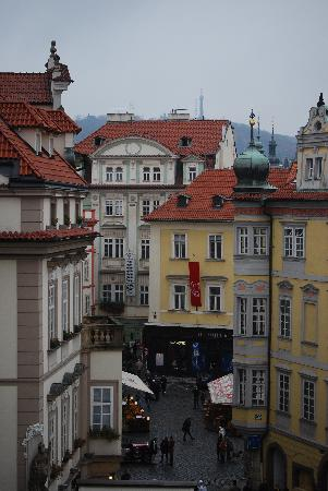 Grand Hotel Praha: view from room