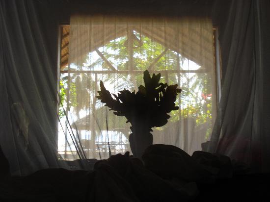 Doany Beach: vue de notre lit... le matin