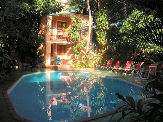 Casa Valeria Boutique Hotel: Poolside View