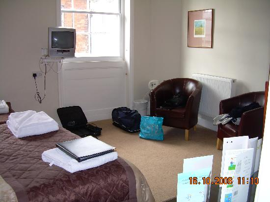 The King's Head Hotel: Hotel Room