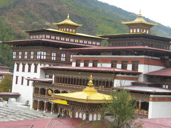Bhutan: tashichhodzong