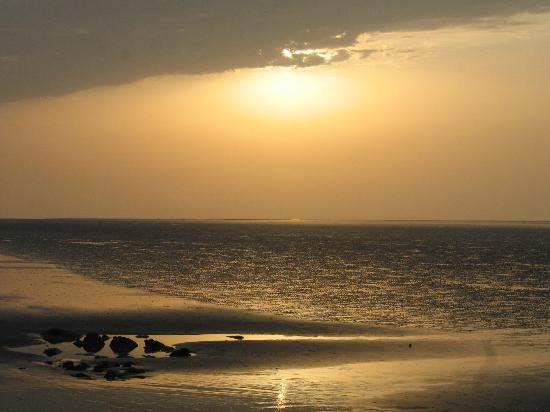 sunset at chandipur