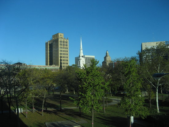 Newark, Nueva Jersey: Window view from Room 309