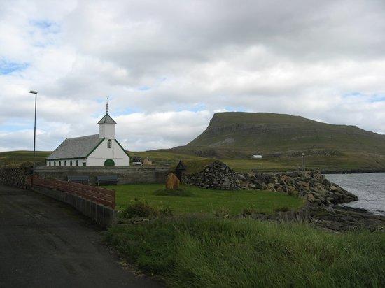 Streymoy, Faroe Islands: Nolsoy Church